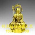 河北地藏王工藝品廠  銅地藏王像高度  地藏王介紹 4
