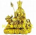 河北地藏王工藝品廠  銅地藏王像高度  地藏王介紹 5