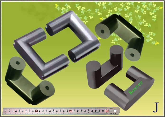 UY20 magnetic core, ferrite core, core mold 1