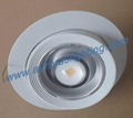 COB LED rotatable downlight