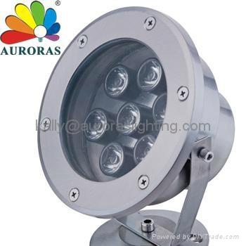 LED underwater light 3X3W 3