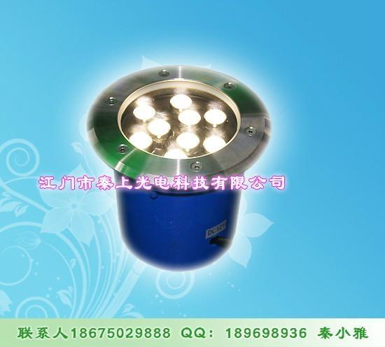 秦上耗電量低LED地埋燈 1