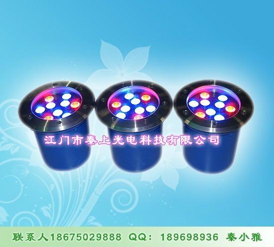 彩色堅固耐用LED地埋燈 1