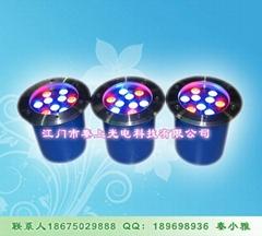 彩色堅固耐用LED地埋燈
