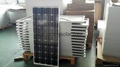 145w~165w mono solar panel