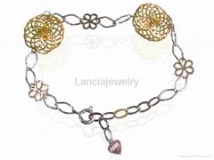 925 Silver Charms Bracelet Jewellery