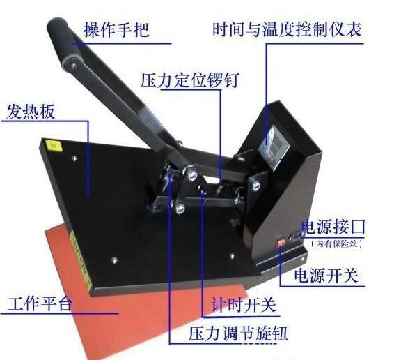 专业生产手动烫画机 3