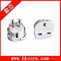UK to AU(US) adapter plug