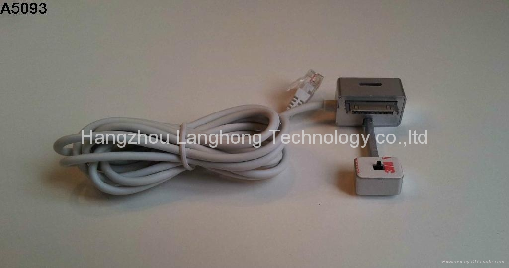 Showhi Security Display Cable Senor for Samsung Tablet 2