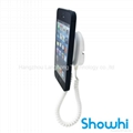Showhi wall-mounting security display stand for cell phone with alarm XC5100+-IG
