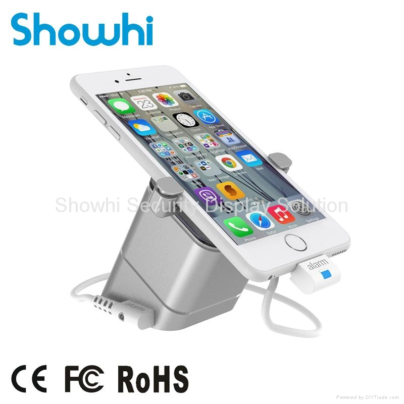 New all in one angled phone display security stand for retail shop MAX 1