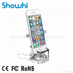New all in one vertical phone display security stand with acrylic stand MAX