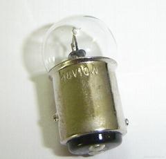 48V10W双点高低脚叉车倒车灯灯泡