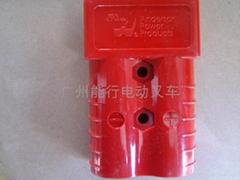 Anderson SB350A红色叉车充电插头