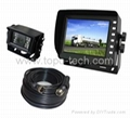 Car rearview camera system