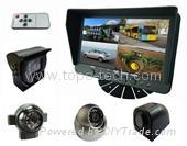 """7"""" QUAD car rearview camera system"""