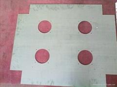 激光切割不锈钢拉丝板东莞制造加工