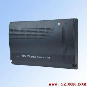 數字電話交換機WS824(10D)國威 1