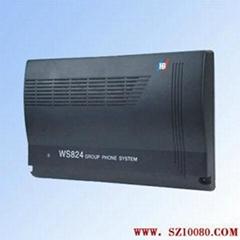 数字电话交换机WS824(10D)国威