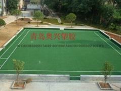 人造草坪门球场