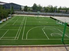 人造草坪篮球场