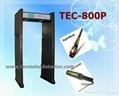 Safty Detecting Door Walk Through Metal Detector TEC-800P 1