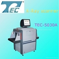 Airport X-ray baggage detect machine for