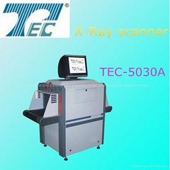 Airport X-ray baggage detect machine for l   age checking TEC-5030A