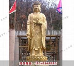 博创铜佛像