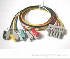 Siemens ECG 5-lead Leadwires with clip