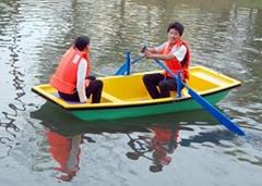 玻璃鋼手划船