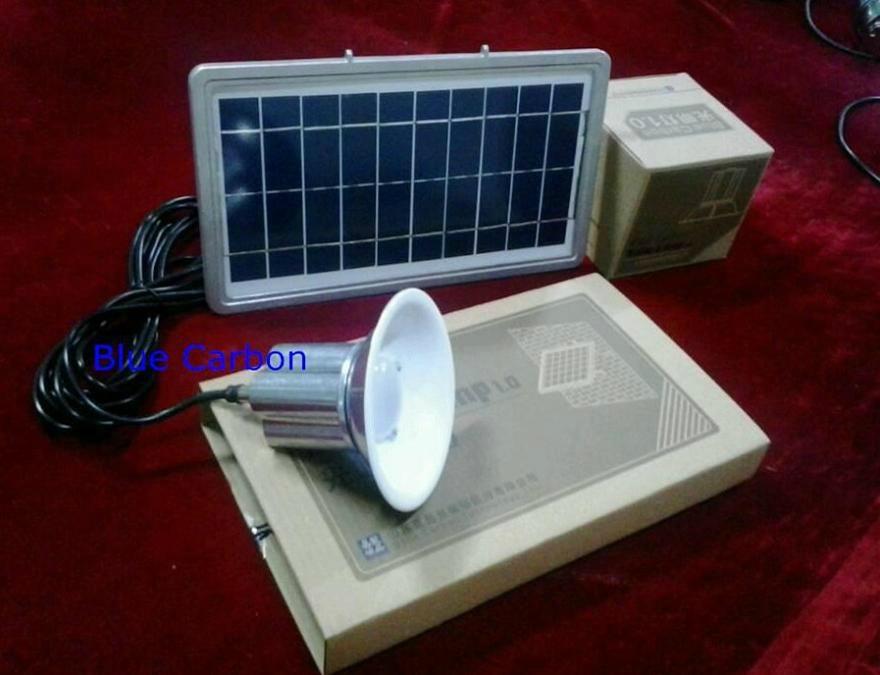 Energy Saving 5w Indoor Solar Led Light Bct Dtl 1 0 Blue Carbon China Manufacturer
