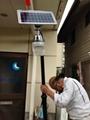 Solar garden light with CE ROHS