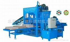 QTY4-20A型液压彩砖机 北京中材建科免烧制砖机设备 环保液压砖机