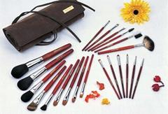 Professional make-up brush set