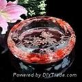 水晶煙灰缸 4