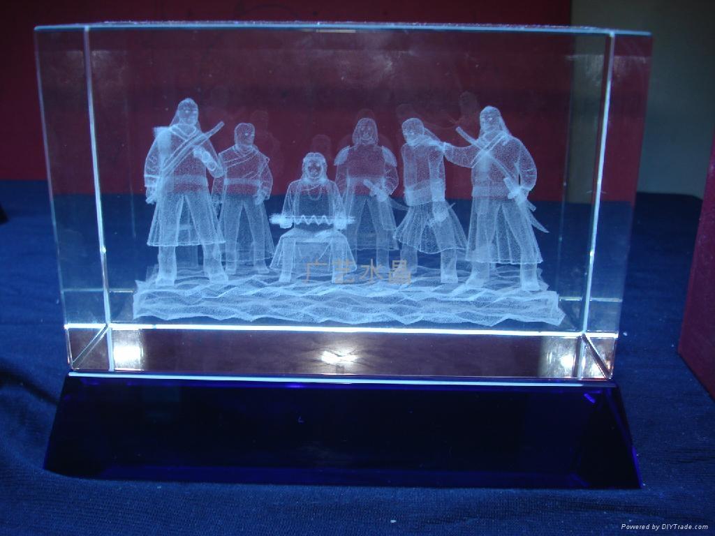 水晶3D內雕 5