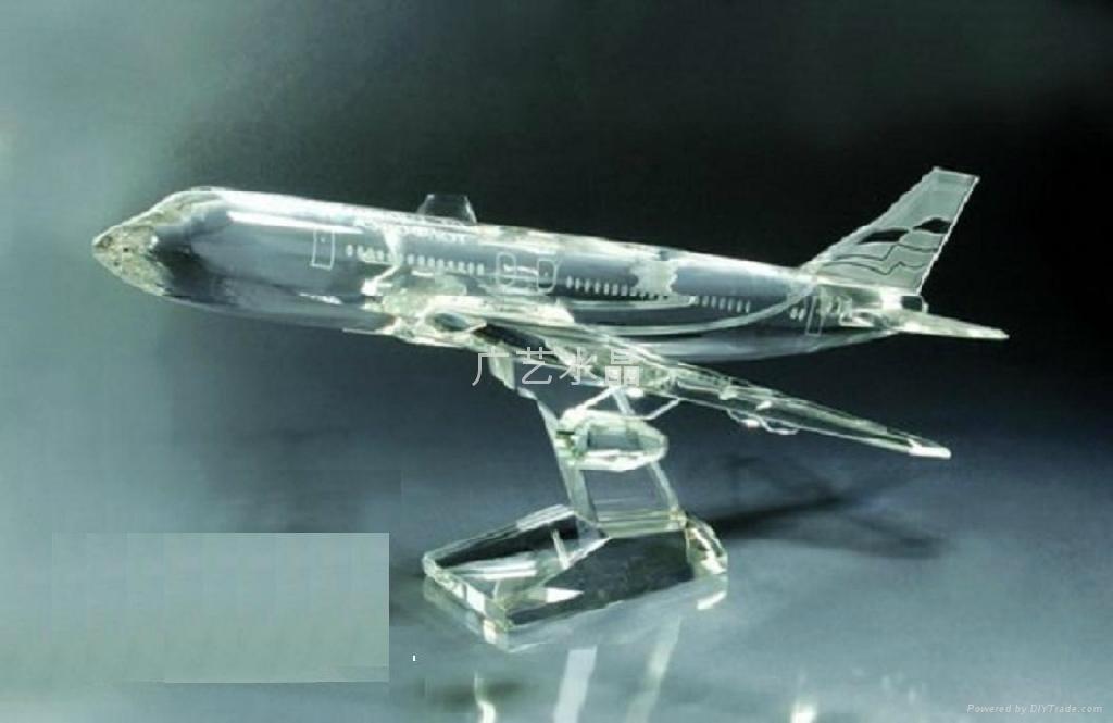 水晶汽車模型 3