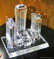 水晶樓模 1