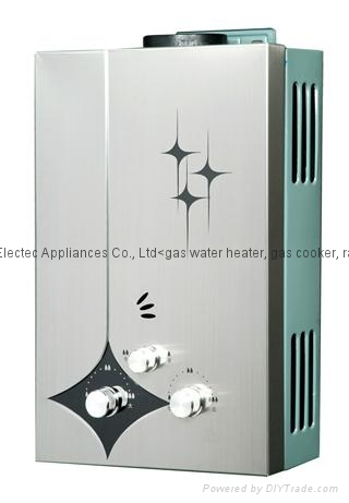 10L Slim Super Type Gas Water Heater with Over Higt Temperature Protection 1