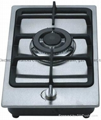 Gas Hob with 1 Burner and 1.5V Battery Pulse Ignition(GH-S301C)