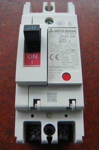 三菱塑壳断路器NF63-CW 1