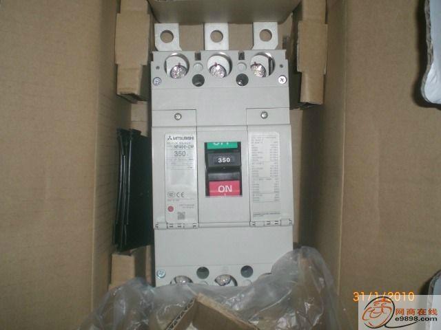 三菱塑壳断路器NF400-CW 1
