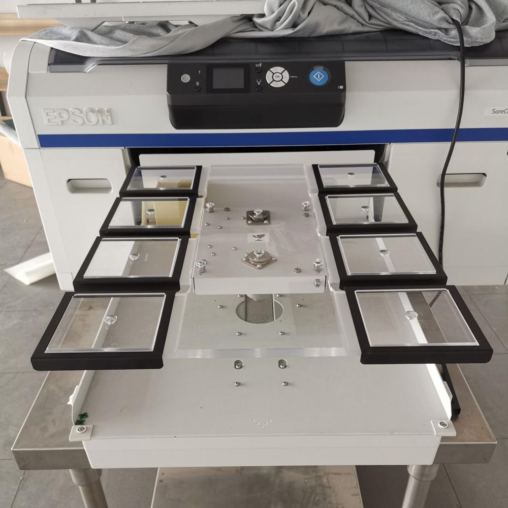 epson surecolor F2000 F2100 F2160 DTG printer Tag/Short Sleeve/Koozie Platen 3