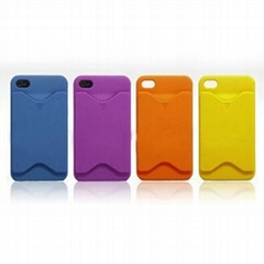 Hard ID Credit Card Case cover skin For iphone 4 4g 4th