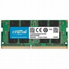 Crucial 4GB DDR4-2400MHz Laptop ram - SODIMM