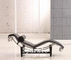高檔真皮休閑躺椅TY-806