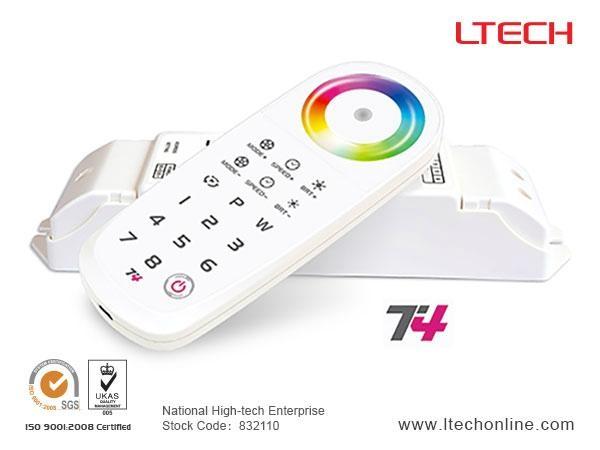 2.4G RF Wireless  RGBW Controller T4 2