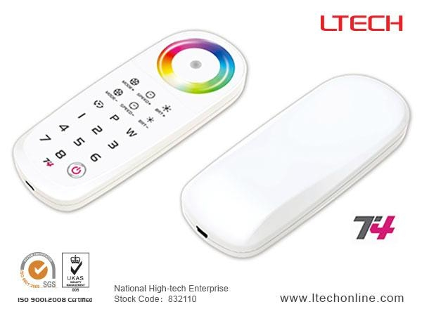 2.4G RF Wireless  RGBW Controller T4 1