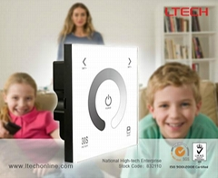 Wall Mounted Touch Panel Controller for Single Color